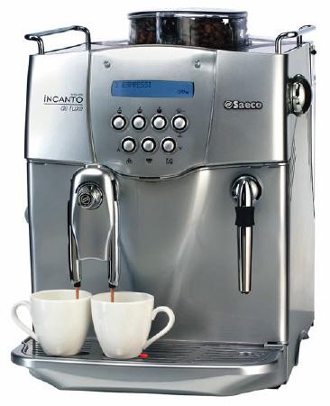 Saeco Incanto De Luxe SBS kávéfőző szuperautomata